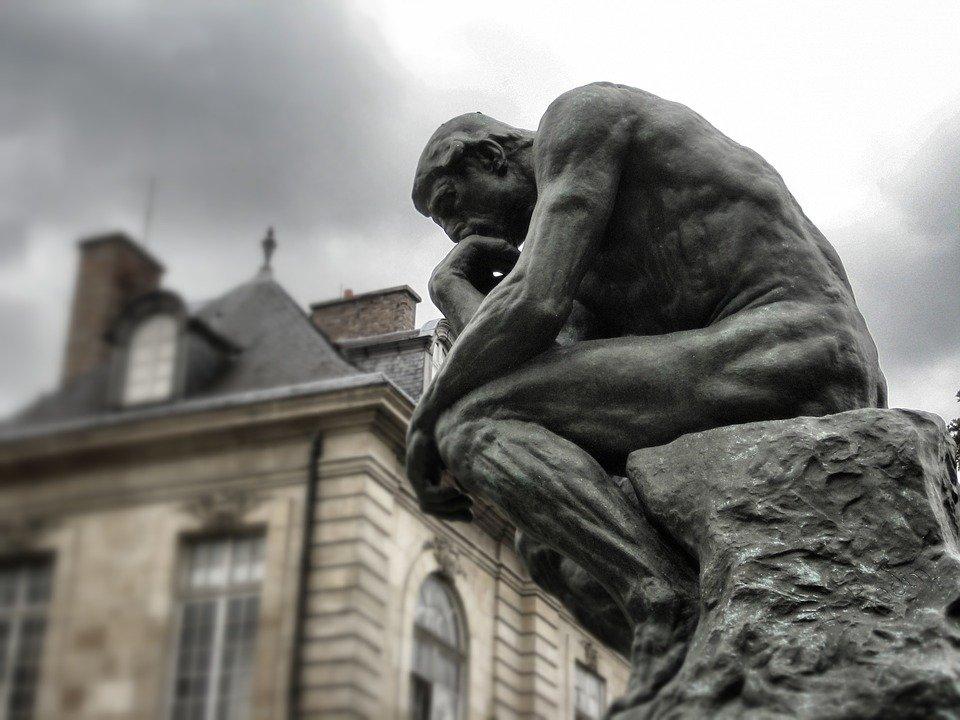 Le Penseur, Rodin, Paris, Sculpture, Musée, Bronze