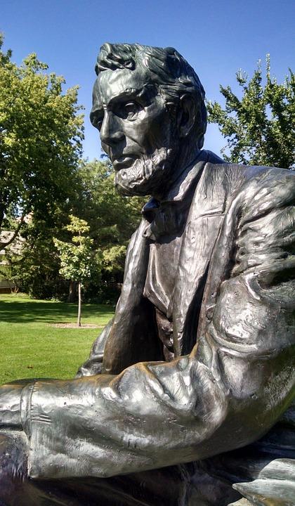 Abraham Lincoln, Président, Amérique, Usa, Boise, Idaho