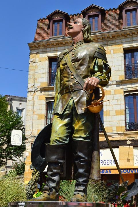 Cyrano De Bergerac, Bergerac, Monument, Poète, Dordogne