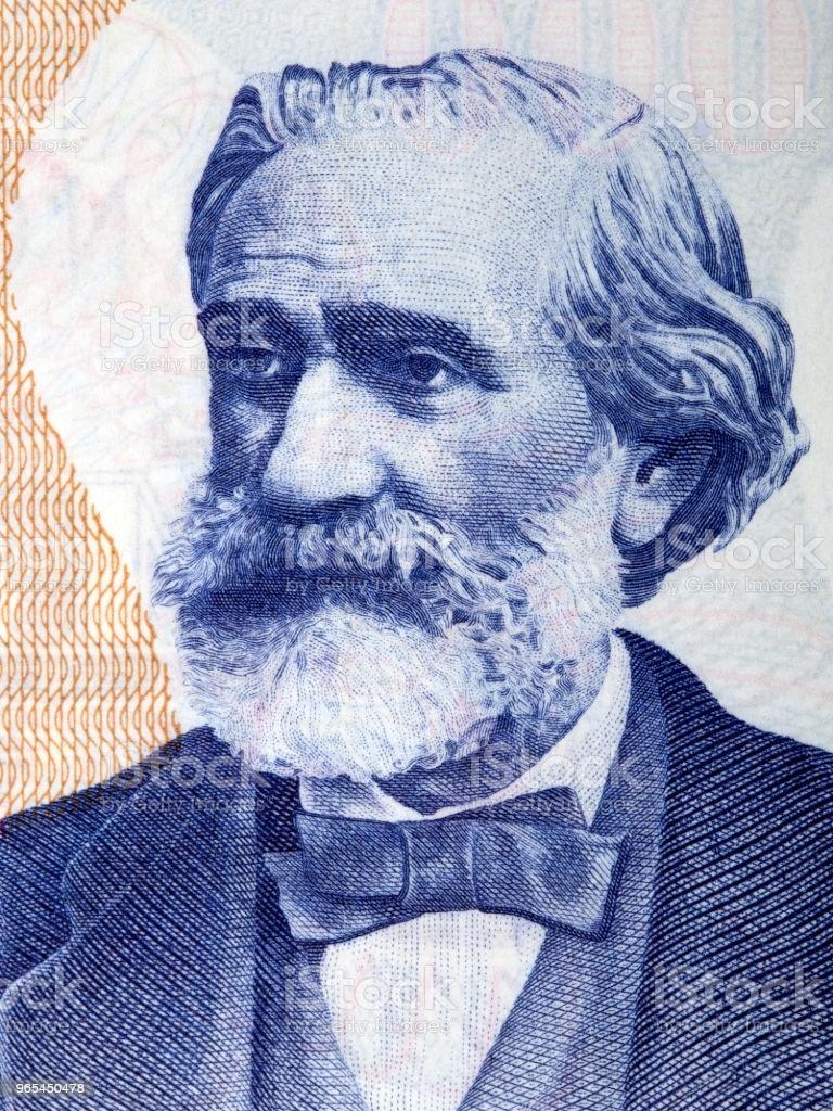 Portrait de Giuseppe Verdi - Photo de Giuseppe Verdi libre de droits