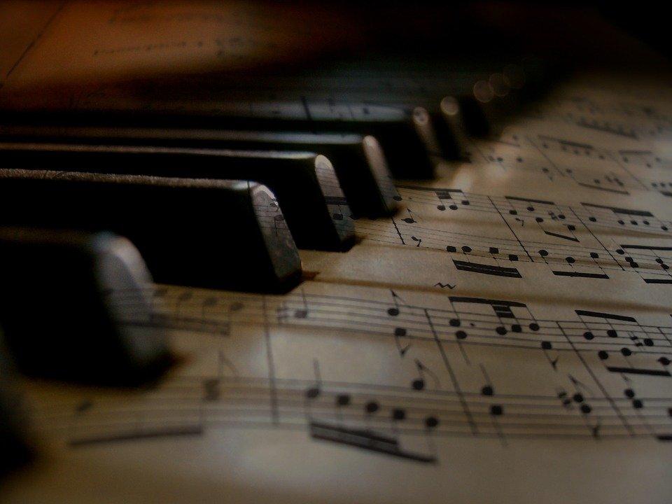 La Musique, Piano, Touches, Clavier, Sonores, Concert