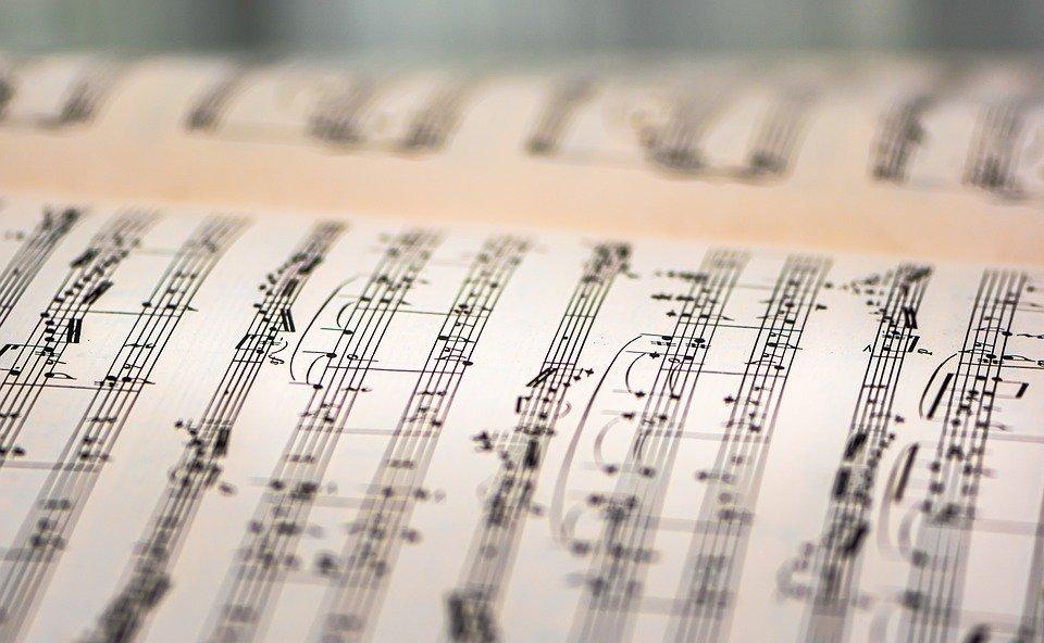 Livre De Musique, Feuille De Musique, Notes De Musique