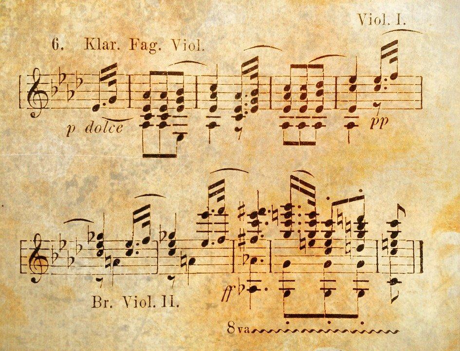 Partition De Musique, La Musique, Notenblatt, Symphonie